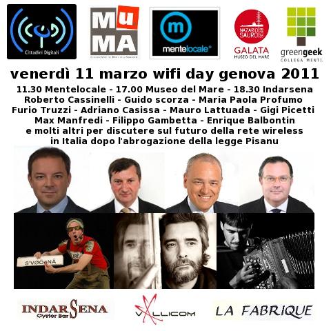 Wifi Day Genova 2011